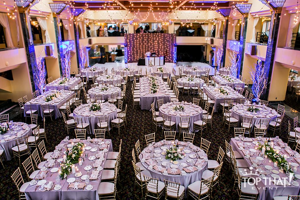 International Banquet Center Atheneum Hotel Wedding ...