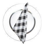 Black Gingham Napkin