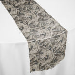 Charcoal Waterview Table Runner