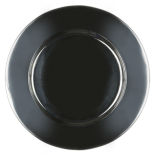 Silver Stainless Metal Charger Plate