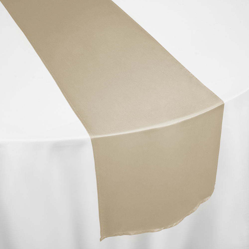 Cashmere Duchess Satin Table Runner By Chair Covers U0026 Linens