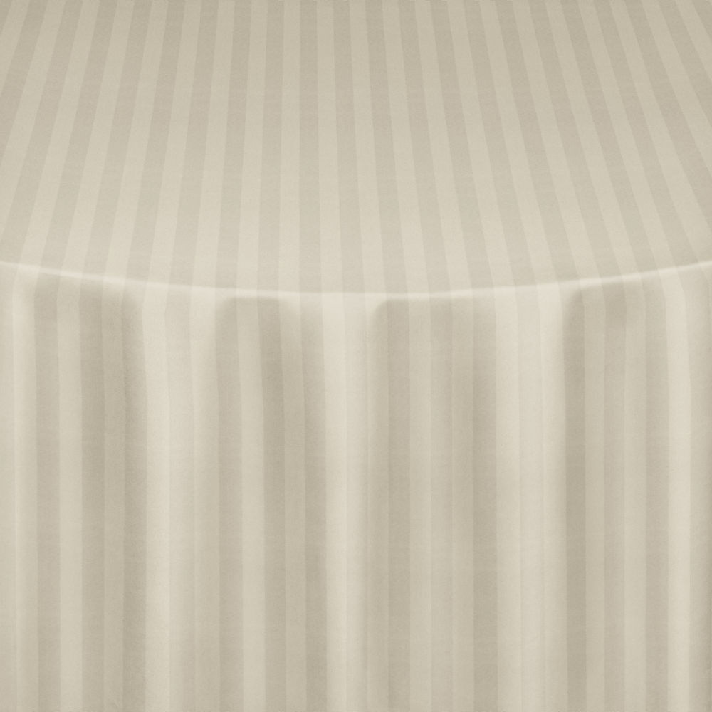 Ivory Satin Stripe Table Linen By Chair Covers Amp Linens