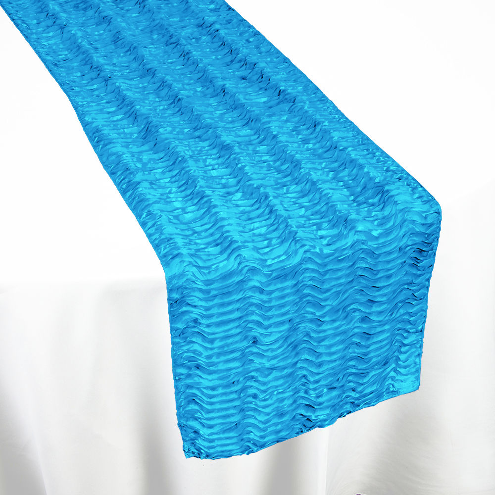 Turquoise Swagger Table Runner By Chair Covers Amp Linens