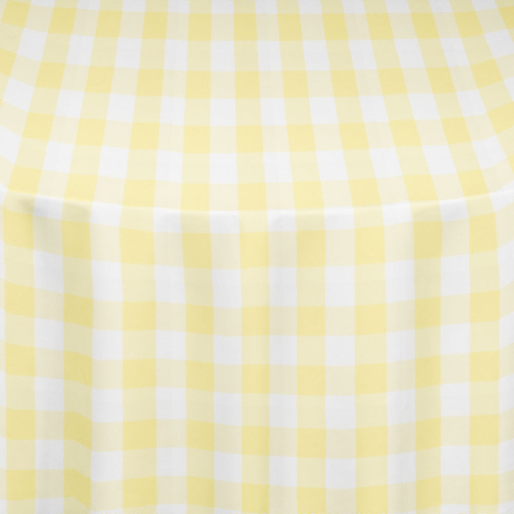 Yellow Gingham Table Linen By Chair Covers Amp Linens